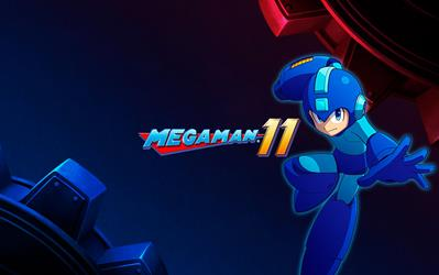 Mega Man 11 cover